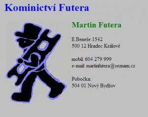logo firmy Martin Futera - Kominictví