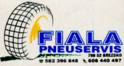 logo firmy Pneuservis Fiala
