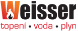 logo firmy Weisser instalace s.r.o.