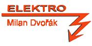 logo firmy MILAN DVOØÁK ELEKTRO