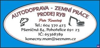 logo firmy Petr Konečný - silniční doprava
