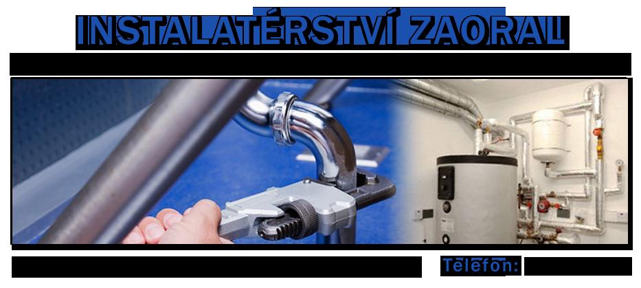 logo firmy INSTALATÉRSTVÍ ZAORAL