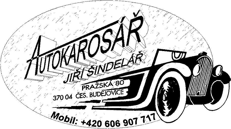 logo firmy Jiří Šindelář - Autokarosář