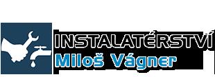 logo firmy Instalatérství Miloš Vágner
