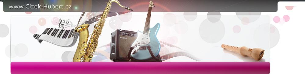 logo firmy Čížek Hubert - obchod opravy výkup hudebních nástrojů