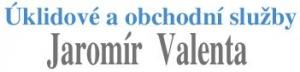 logo firmy ÚKLIDOVÉ A OBCHODNÍ SLUŽBY  Jaromír Valenta