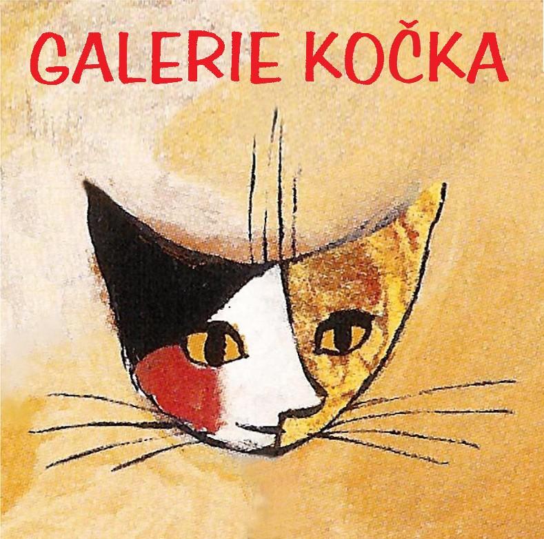 logo firmy Rámování Galerie Kočka