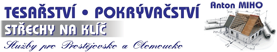logo firmy Tesařství - Miho Anton