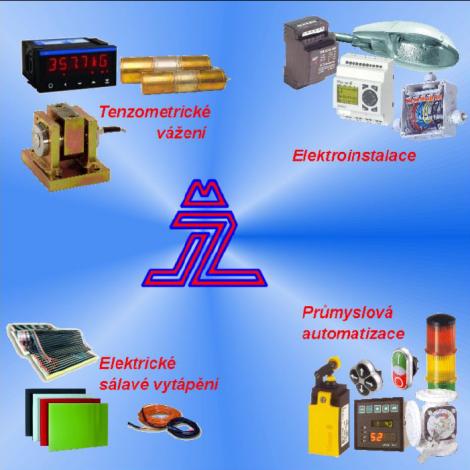 logo firmy Jan Ženíšek - ELEKTROINSTALACE A AUTOMATIZACE