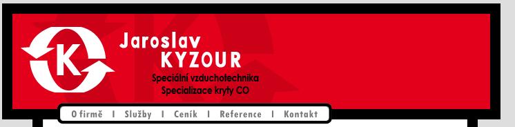 logo firmy KYZOUR-VZDUCHOTECHNIKA