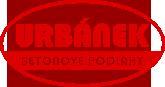logo firmy URBÁNEK – betonové podlahy