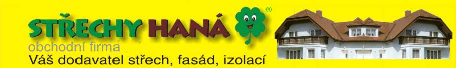 logo firmy STŘECHY HANÁ