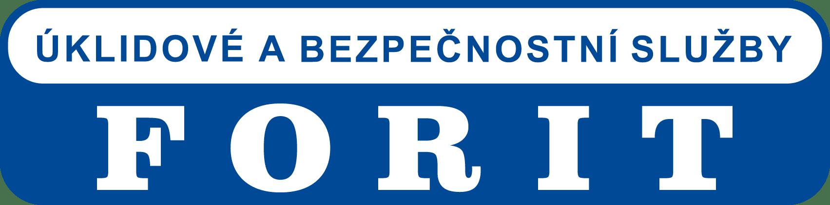 logo firmy ÚKLIDOVÉ A BEZPEČNOSTNÍ SLUŽBY FORIT