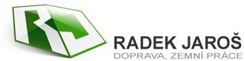 logo firmy Autodoprava, zemní práce – Radek Jaroš