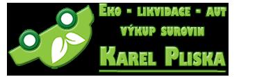 logo firmy Eko - likvidace - aut Karel Pliska