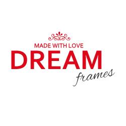 logo firmy DREAM frames