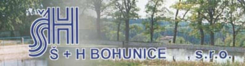 logo firmy Š + H BOHUNICE