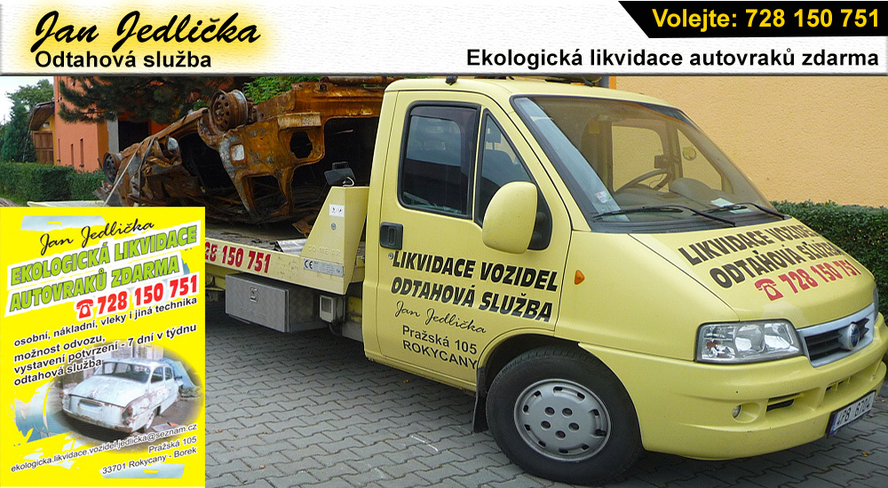 logo firmy Ekologická likvidace vozidel – Jan Jedlička