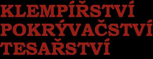 logo firmy Lukáš Nevěčný - Klempířství