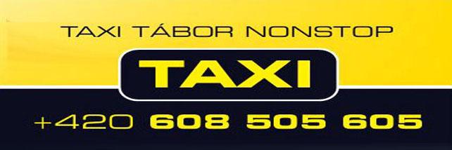 logo firmy Jaroslav Lis - Taxi Tábor nonstop