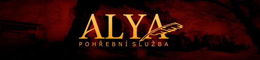 logo firmy Bohumila Michalíková - POHŘEBNÍ SLUŽBA ALYA