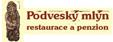 logo firmy PODVESNÝ MLÝN - PENZION A RESTAURACE