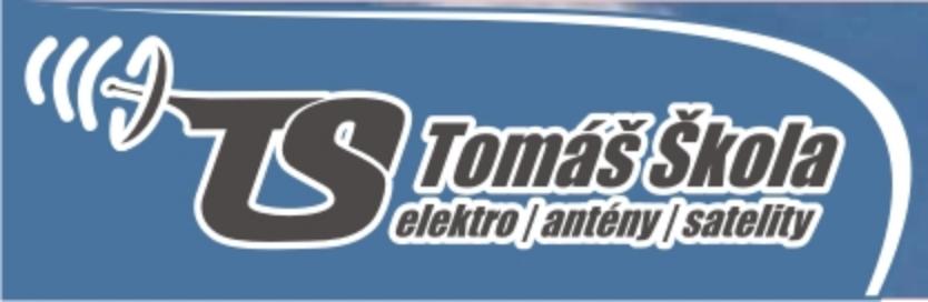 logo firmy Tomáš Škola - elektro, antény, satelity