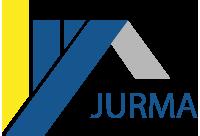 logo firmy JURMA STØECHY STAVBY