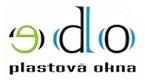 logo firmy EDO OKNA - PLASTOVÁ OKNA