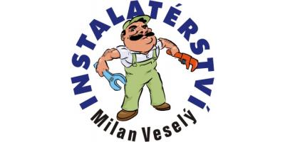 logo firmy VESELÝ MILAN-VODO, TOPO, PLYN