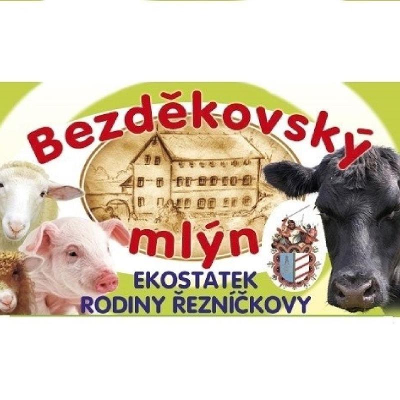 logo firmy BEZDÌKOVSKÝ MLÝN Ekostatek rodiny Øezníèkovy