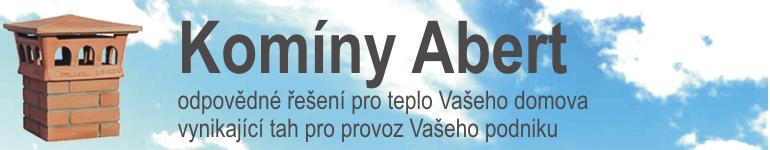 logo firmy Tomáš Abert - komíny Abert