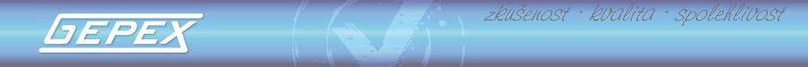 logo firmy Gepex s.r.o.