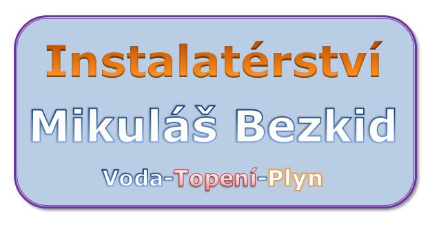 logo firmy Instalatérství Mikuláš Bezkid
