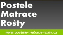 logo firmy Postele-Matrace-Rošty.cz