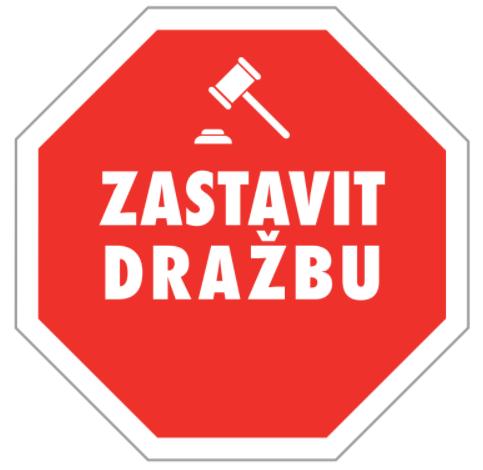 logo firmy Zastavit dražbu
