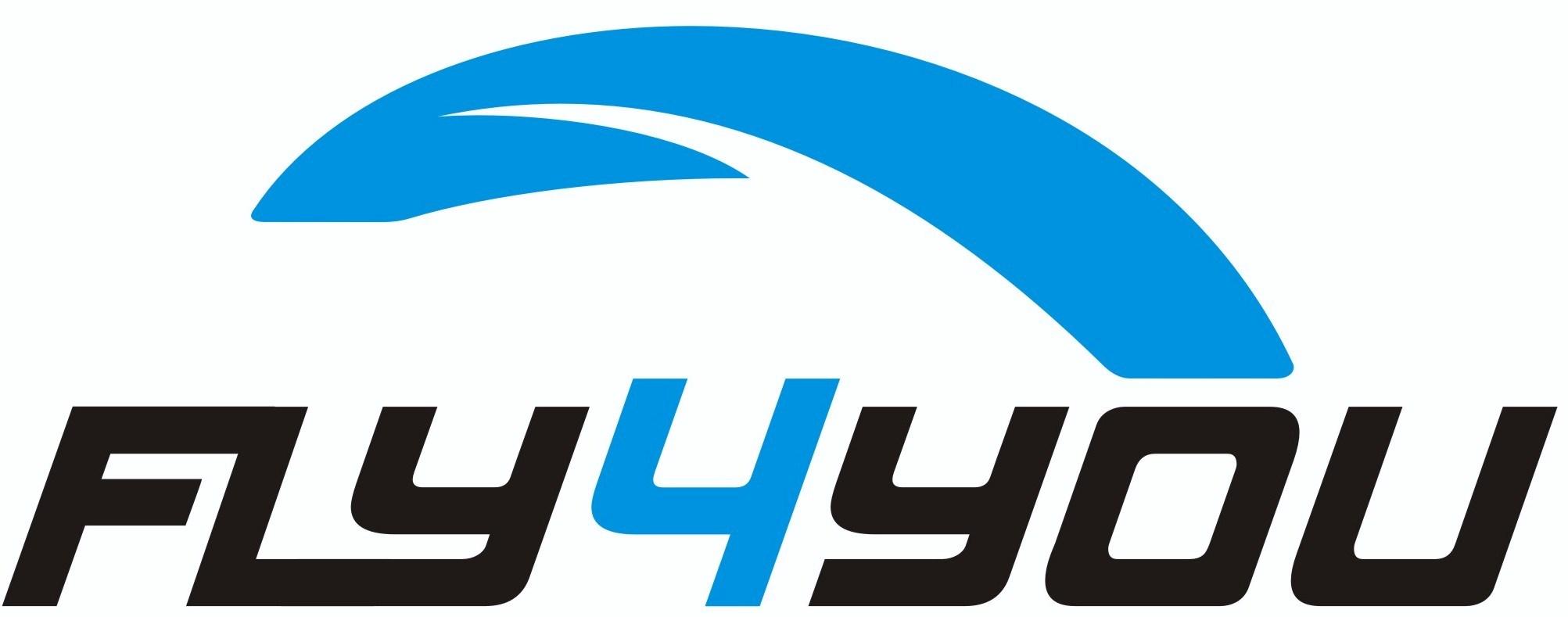 logo firmy FLY4YOU - paraglidingová škola