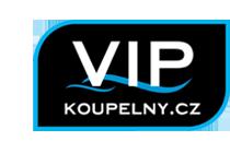 logo firmy VIP KOUPELNY.CZ