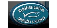 logo firmy RYBÁŘSKÉ POTŘEBY  Michal Janoušek a Michal Nevrkla
