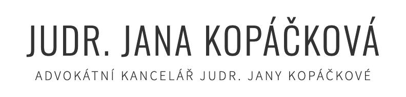 logo firmy Advokátní kancelář - JUDr. JANA KOPÁČKOVÁ