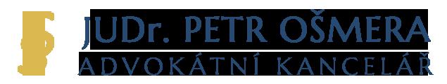 logo firmy ADVOKÁTNÍ KANCELÁŘ JUDr. PETR OŠMERA