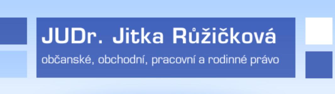 logo firmy AK - JUDr. JITKA RŮŽIČKOVÁ