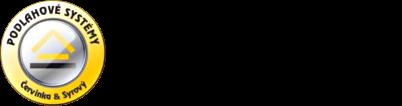 logo firmy PODLAHOVÉ SYSTÉMY-ÈERVINKA & SYROVÝ