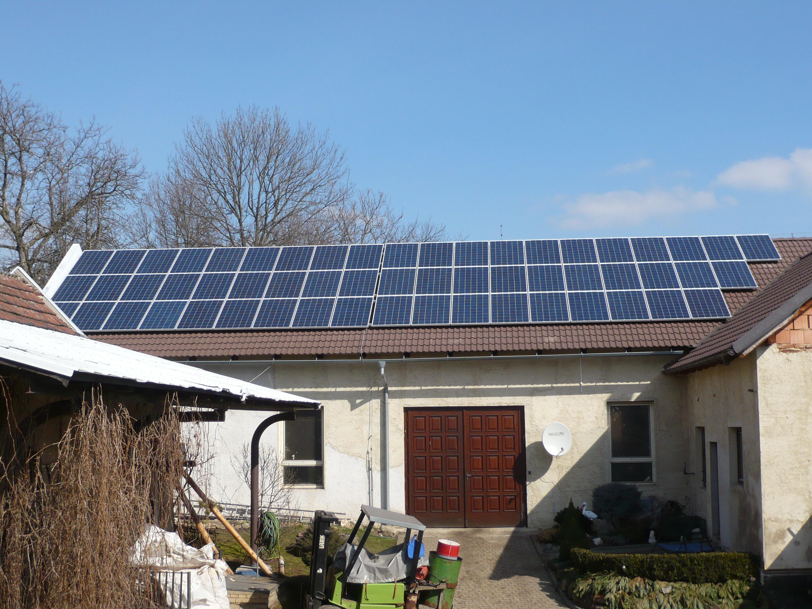 Fotovoltaické elektrárny Hyánek  - 11014