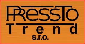 logo firmy PRESSTO TREND s.r.o. (støedisko Nový Jièín)