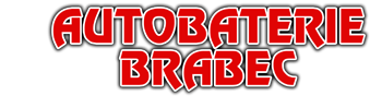 logo firmy BRABEC MILOŠ-AUTOBATERIE BANNER