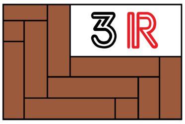 logo firmy 3R - PARKET RENOVACE