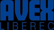 logo firmy AVEX LIBEREC
