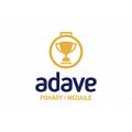 logo firmy ADAVE-POHÁRY, MEDAILE