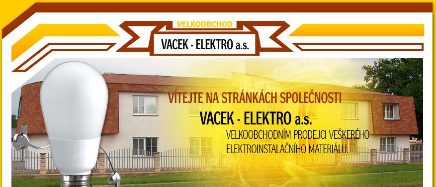logo firmy VACEK - ELEKTRO, a.s.
